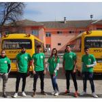 ПГСС Царица Йоанна училищен автобус ученици